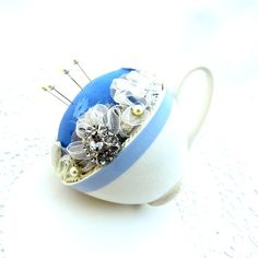 I HAVE BLUE IN MY FALL... by Donna Allen on Etsy