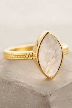 Lulu Barnsbury Marquis Ring #anthrofave