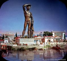 View-Master The Seven Wonders of the World (B901), Scene 2: Colossus of Rhodes