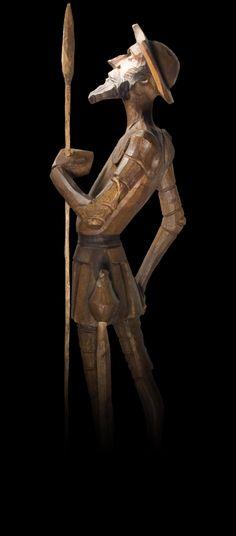 Don Quixote Statue by Mezzaninex
