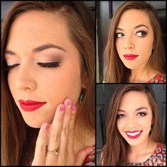Pinup - makeup by Samantha Owens
