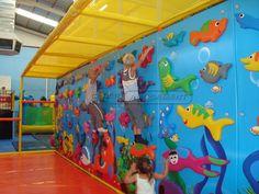 Indoor Playground Equipment Manufacturer|Cheer Amusement Ocean Themed Climbing Wall Indoor Playground System | Cheer Amusement CH-CW20150112-6 - playgroundcheer.com