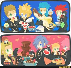 How Organization XIII parties :D