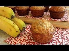 Muy Locos Por La Cocina: Muffins de Plátano y Avena Healthy Cupcake Recipes, Healthy Cupcakes, Healthy Desserts, My Recipes, Favorite Recipes, Pan Dulce, Creative Food, Healthy Smoothies, Cupcake Cakes