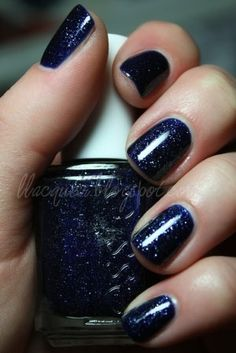 Starry night nailpolish