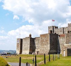 Dover Castle, Kent Standing high above the White Cliffs, Dover Castle has guarded our shores for over 900 years.