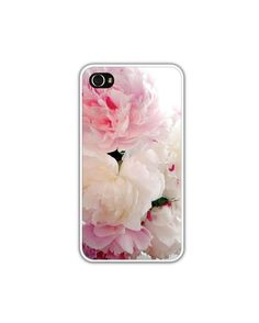 iPhone 4/4s Case Pink Peonies Featured On by LovesParisStudio, $30.00
