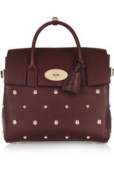 Mulberry | + Cara Delevingne medium studded leather backpack