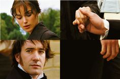 """""""I did find myself clenching my hands quite often. I had this secret: I thought that in Darcy's encounters with Lizzie, whenever she gets at him, really hits him with a sort of verbal body blow, he couldn't react right then.He'd be totally infuriated. But it would tickle him so much"""".   (Matthew Macfadyen)"""