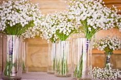 I wonder if this would look good in the mason jars? baby's breath