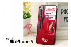 Coca Cola Vending Machine Case for iPhone 4/4S/5/5S/5C,Samsung Galaxy S2/S3/S4