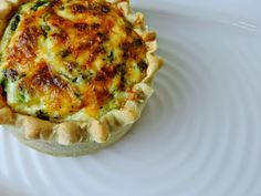 Spinach and Ricotta quiche - all the things that make me….. me