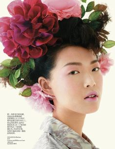 VOGUE CHINA FEBRUARY2013:   Model: Tian Yi Photographer: Chris Craymer Stylist: Ida Wang