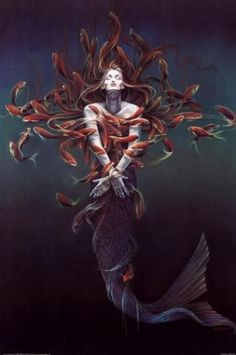 mermaid metamorphosis....one of my favorites.