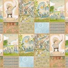 Cori Dantini - The Adventurers - The Wonderers Panel in Multi