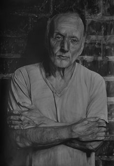 """Name: #TobinBell  #Actor ( of the #Saw film series. ), #Writer, #Producer  Features  - Graphite pencils on paper 180g / m² - Signed by the artist Measurements  - 51 x 73 cm / 20"""" W x 29"""" H Inch  Video on YouTube↓ https://youtu.be/iXTID93BBso  #Art #Drawing #CreationByKK"""