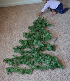 baby juliza has reached a destructive mobile phase that gave me great pause when the time came to put up a christmas tree understand that i love decorat - When To Put Up Christmas Tree