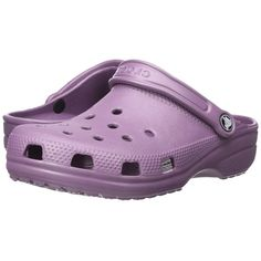 c176129874aed Crocs Classic (Cayman) - Unisex (Lilac) Clog Shoes ( 35) ❤ liked on Polyvore  featuring shoes