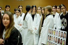 Backstage at the Paul Smith Women's Autumn/Winter '15 Show