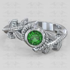 Glorious custom made Hyrule Warriors Legend of Zelda Nintendo inspired game ring CZ stone available in or Gold by GLORIOUSJEWELsc on Etsy
