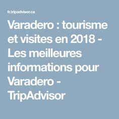 Varadero : tourisme et visites en 2018 - Les meilleures informations pour Varadero - TripAdvisor Varadero, Cuba, Trip Advisor, Vacation, Tourism, Holidays Music, Kobe, Holidays