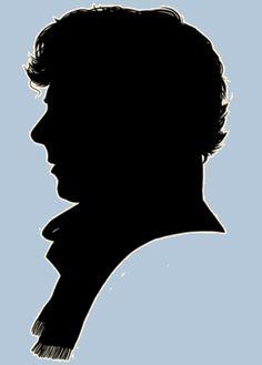 Sherlock - - - ohohohhoohohoh his profile . . . it's beautiful