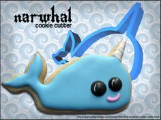 Narwhal Cookie Cutter by thespiansmc