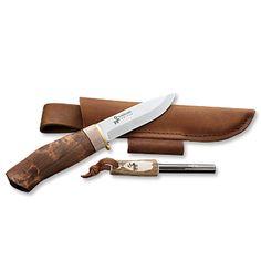 Hunting Puukko Knife / World's Sharpest Puukko Knife -- Orvis