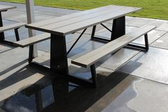 Outdoor Picnic Tables, Custom Logos, Furniture, Color, Home Decor, Decoration Home, Room Decor, Colour, Home Furnishings