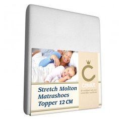 Zojuist Stretch Topper Molton Cevilit-Lits-Jumeaux (160 x 200/210/220 cm) gekocht: