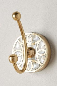 Launis Towel Hook by Anthropologie in Brown, Bath – Best Towel Models and Patterns 2020 Bathroom Towel Hooks, Bathroom Hardware, Brass Bathroom, Boho Bathroom, Bathroom Fixtures, Bath Towels, Coat Hooks On Wall, Decorative Towels, Tuscan Decorating