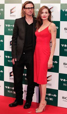 Angelina Jolie's Red Carpet Transformation 2011