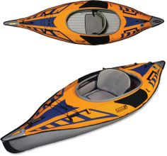 Perfectly sized for spontaneous adventures, the Advanced Elements AdvancedFrame® Sport kayak is easy to set up, and highly maneuverable. #REIGifts