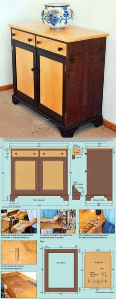 DIY Sideboard - Furniture Plans and Projects   WoodArchivist.com