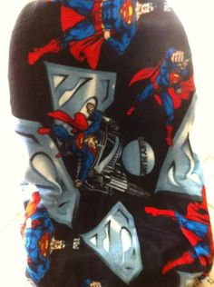 Superman Toddler Carseat Cover on Etsy, $40.00