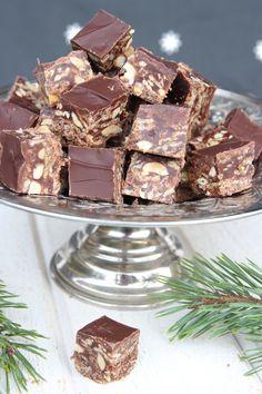 Candy Recipes, Dessert Recipes, Desserts, Caramel, Swedish Recipes, Christmas Candy, Xmas, Fudge, Truffles