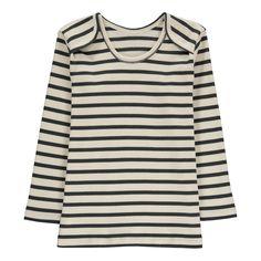 Poudre Organic Striped Organic Cotton T-Shirt-product