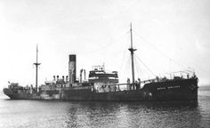 Baron Newlands (British Steam merchant) - At 23.17 hours on 16 March 1942 the unescorted Baron Newlands (Master William Lindsay Ewing) was hit underneath the bridge by one torpedo from U-68 and sank immediately by the bow six miles south of Cape Palmas, Liberia.