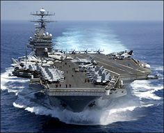 "Obama: ""Window of Opportunity"" for Iran Attack Opens in June.  U.S. Department of Defense aircraft carrier"