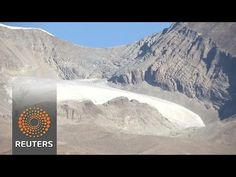 Global warming melting Tibetan glaciers