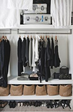 working on that closet ;)