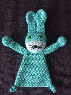 Mini lappenpop konijn