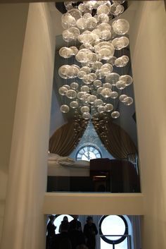 In love with glass blow chandelier
