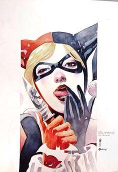 Garrie Gastonny, Harley Quinn