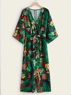 Wrap Dress, Tropical, Dresses, Closet, Fashion, Dress, Vestidos, Moda, Armoire