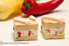 Romanian Food, Romanian Recipes, Salad Sauce, Soul Food, Food Art, Food To Make, Buffet, Cheesecake, Food And Drink
