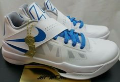 quality design 90c8a a015b Nike Zoom KD 4 IV CT16 QS Finals Thunderstruck Kevin Durrant AQ5103-100 Size  9.5