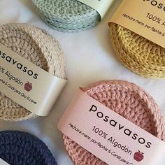 Crochet Quilt, Crochet Motif, Crochet Designs, Crochet Stitches, Knit Crochet, Crochet Coaster Pattern, Crochet Basket Pattern, Crochet Patterns, Mode Crochet