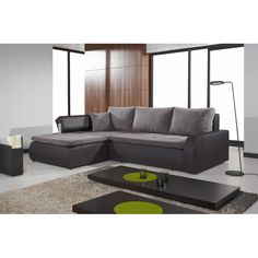 Aberdeen Furniture offers modern home furniture: wardrobes, beds, corner sofa beds, modern living room sets, at the lowest price.Visit our website! Corner Sofa Bed Leather, Black Corner Sofa, Corner Sofa Bed With Storage, Leather Sofa, Sofa Design, Canapé Design, How To Make Corner Sofa, How To Make Bed, Couch L Form