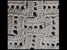 Crochet : Punto Escalera # 2 An interesting twist on C2C